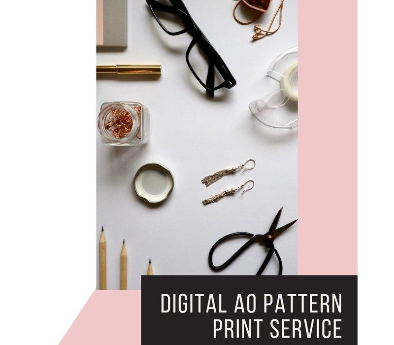 A0 print service