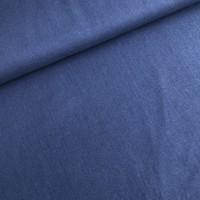 Linen Mix Washed uni denimblue