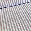 De Stoffenkamer Linen Mix Washed pink stripes