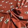 soft viscose sweater elephant rust