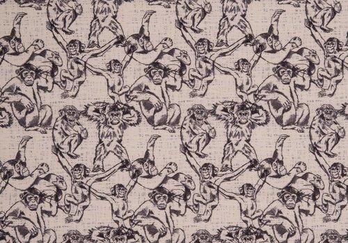 De Stoffenkamer Summer sweater monkey business