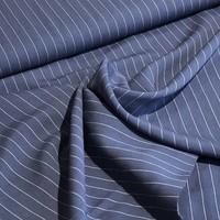Viscose denim blue stripes