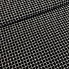 Katoen mini grid black