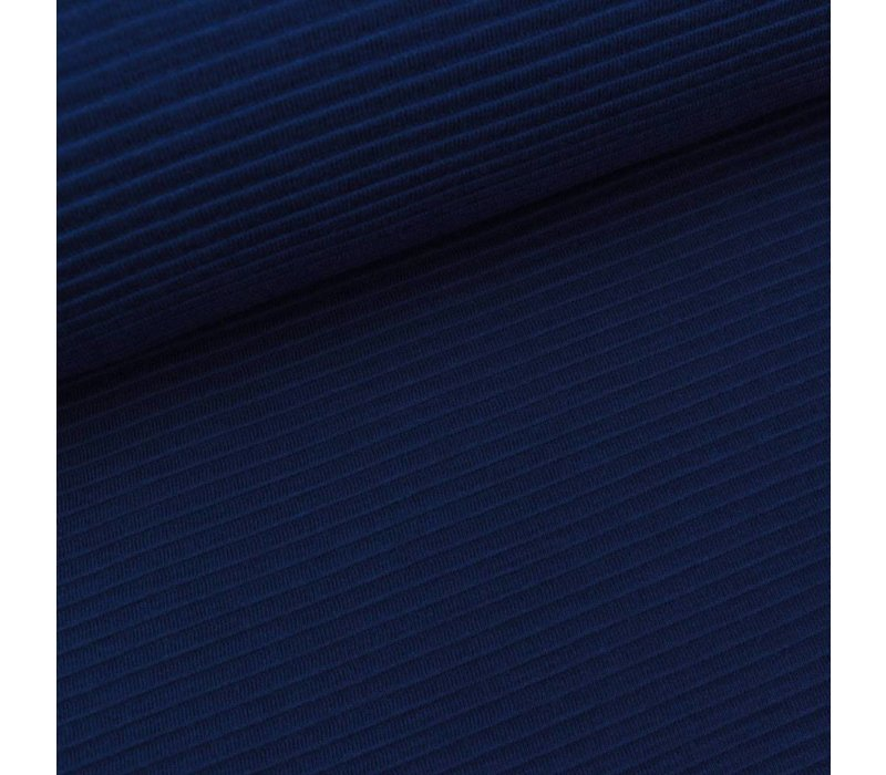 Tricot relief lines blue
