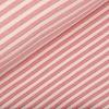De Stoffenkamer Tricot relief lines ecru Coral pink