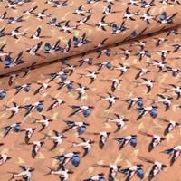 Soft blouse Birdies Salmon