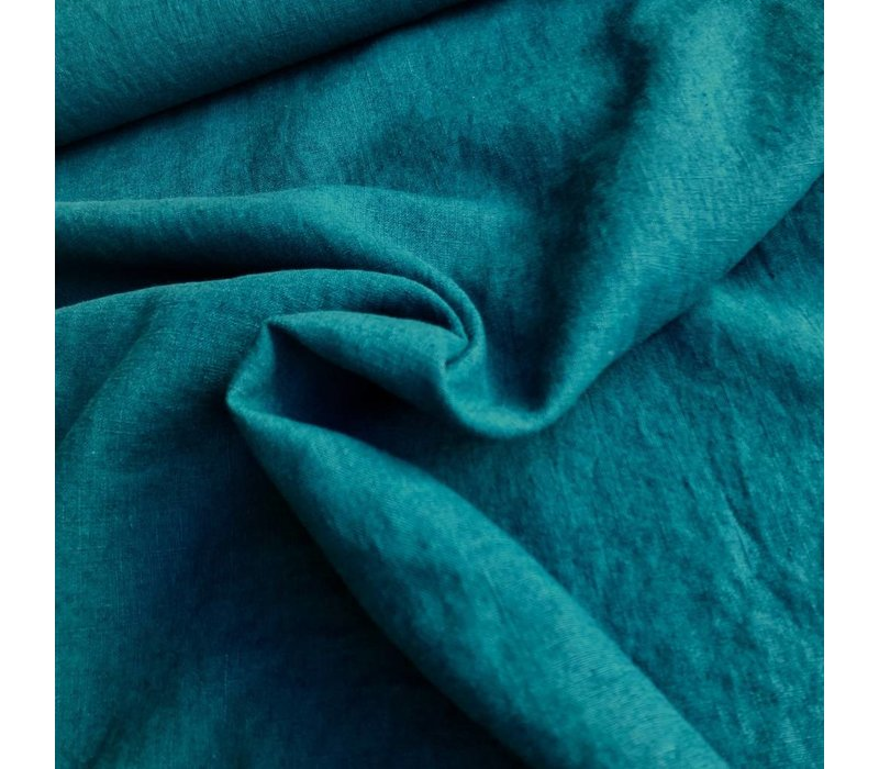 Washed Linen Petrol