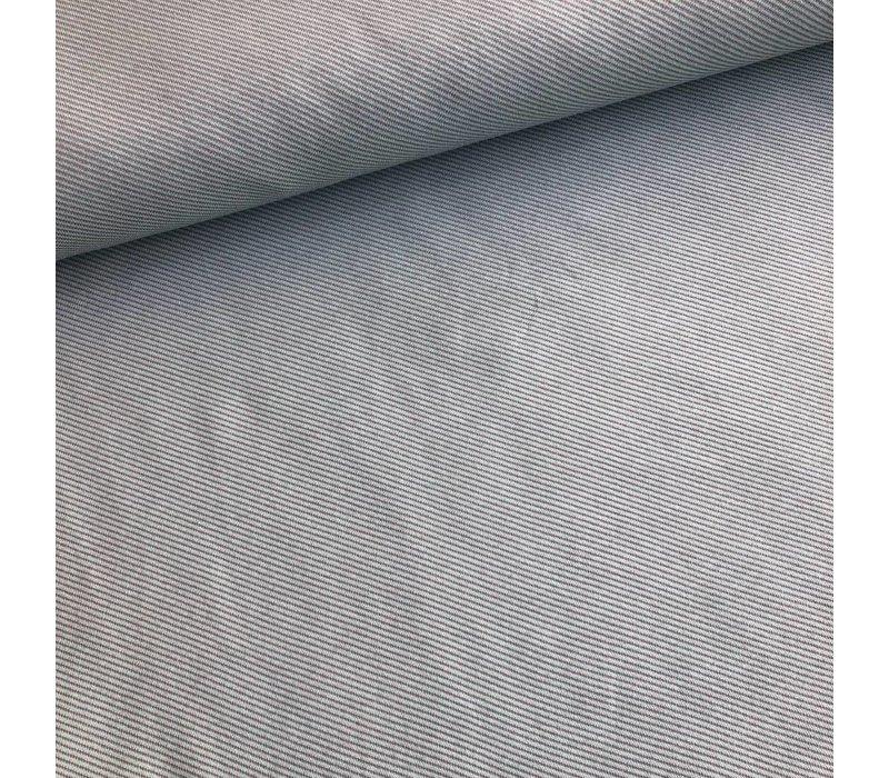 Jacquard Tricot diagonal stripes mint