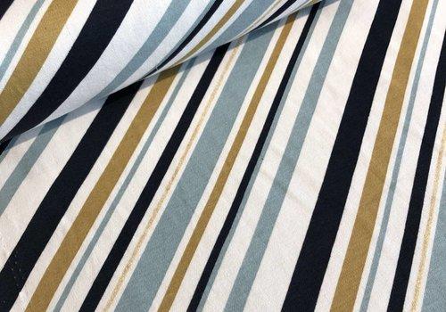 Birch Interlock Mod Stripes Metallic