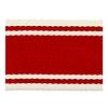 De Stoffenkamer Tassenband strepen rood