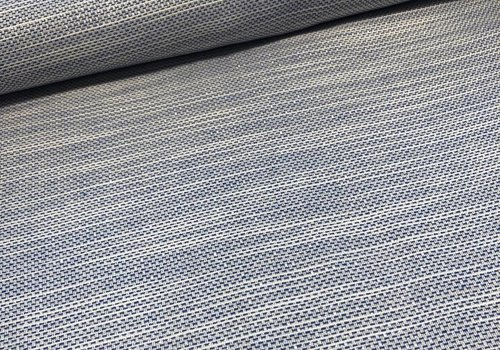 Soft Boucle blue silver