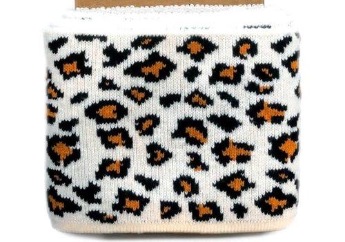 Albstoffe - Hamburgerliebe Cuff Me brown Leopard
