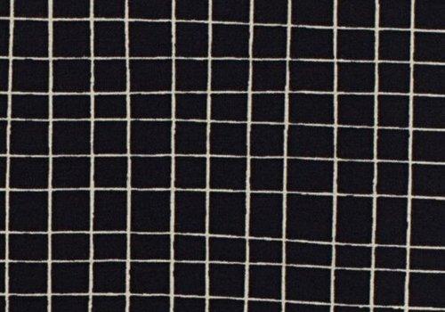 Froy & Dind Tricot BIO Black grid Dot