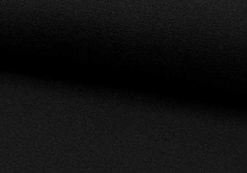 De Stoffenkamer Boordstof 75cm BLACK