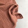 De Stoffenkamer Linen double gauze rusty pink