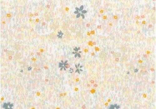Rico Flowered Cotton field - metallic