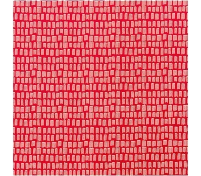 Cotton red strokes