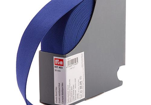 De Stoffenkamer Taille Elastiek 38mm kobaltblauw