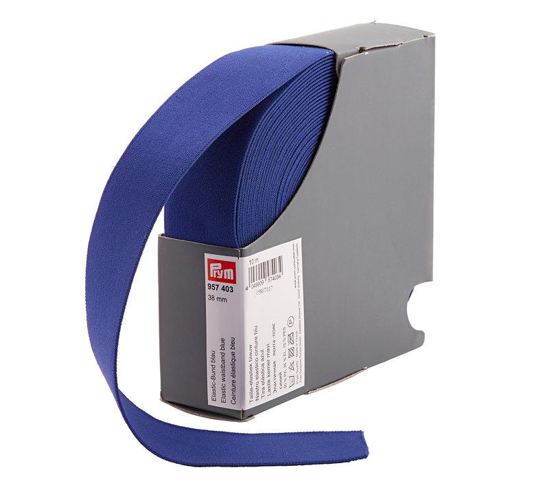 Taille Elastiek 38mm kobaltblauw