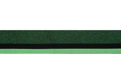 De Stoffenkamer Taille Elastiek 40mm groen