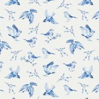 Tricot Blue Sparrow