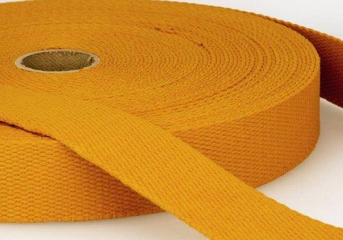 De Stoffenkamer Tassenband okergeel
