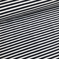Tricot Stripes white//navy
