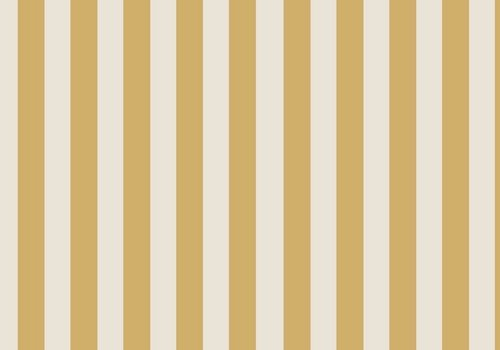 Elvelyckan Vertical gold - creme