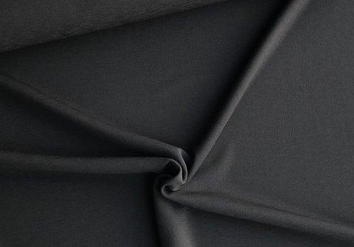 De Stoffenkamer Scuba Crepe structure black