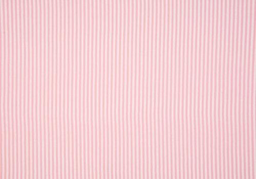 De Stoffenkamer Boordstof 75cm Roze Streepjes