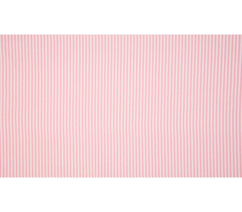 Boordstof 75cm Roze Streepjes