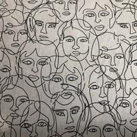 Canvas Faces Naturel