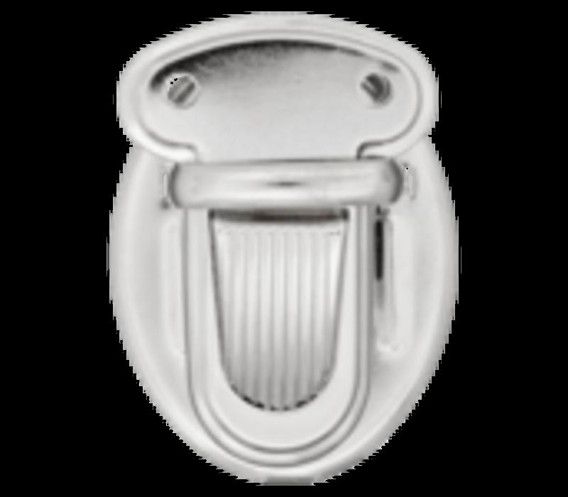 Kliksluiting 25mm zilver