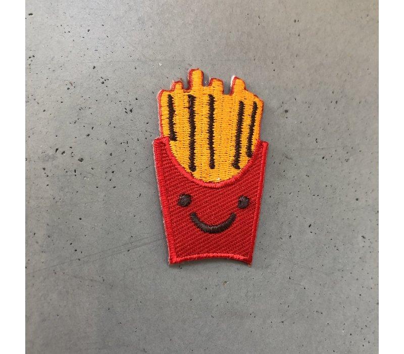 Strijkapplicatie frietjes
