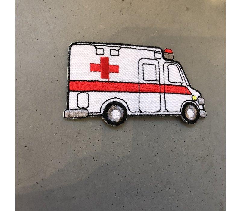 Strijkapplicatie Ambulance
