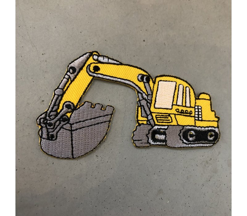 Strijkapplicatie Bulldozer