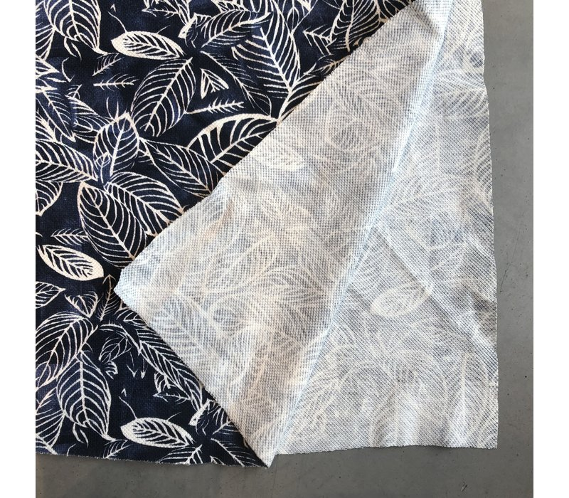 Polo Tricot leafs navy
