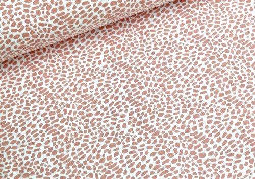 Stenzo BIO Tricot terrazzo spicks pink