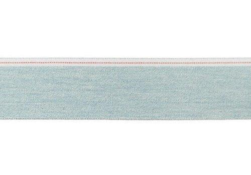De Stoffenkamer Taille Elastiek 40mm light denim