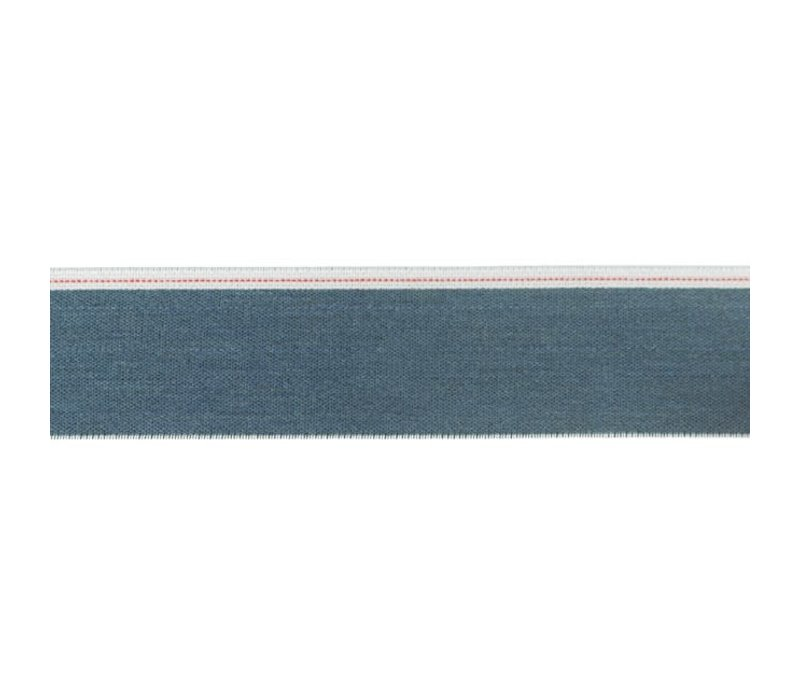 Taille Elastiek 40mm blue denim