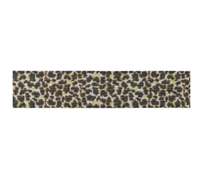 Taille Elastiek 35mm Leopard Lurex