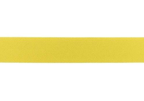 De Stoffenkamer Taille Elastiek 25mm Warm Yellow