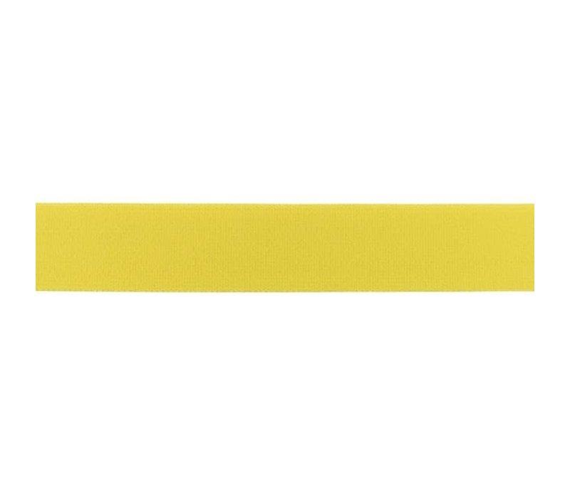 Taille Elastiek 25mm Warm Yellow