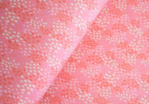 Hello Heidi BIO Tricot Ticino dotties pink