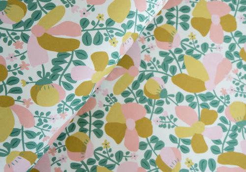 Hello Heidi BIO Tricot Ticino bouquet green