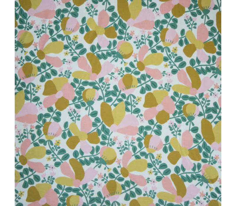 BIO Tricot Ticino bouquet green