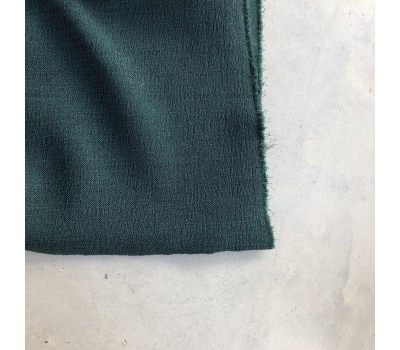 Scuba Crepe structure Intense Green