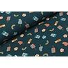 Megan Blue Fabrics Ice Cream Denim Petrol