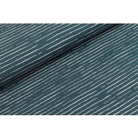 Stripes Denim Blue // white