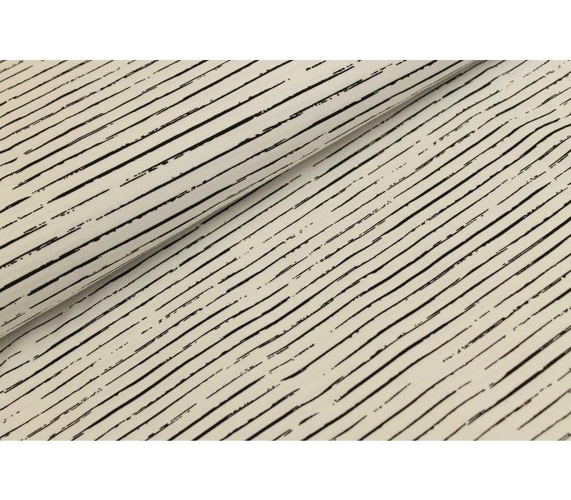 Stripes White // Black